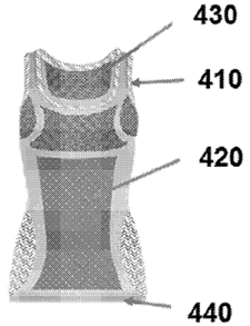 Wearable device patent drawing
